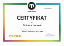 certyfikat mauricz.com DiS 3