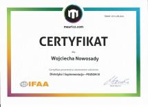 certyfikat mauricz.com DiS 4