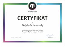 certyfikat mauricz.com DiS warsztaty