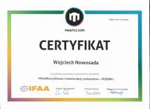 certyfikat VitaImmun mauricz.com Mikroflora i nietolerancje I moduł