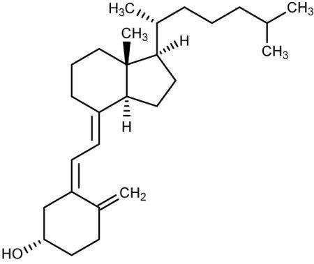cholekcyferol, witamina D - opis działania, niedobory, wskazania