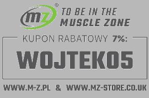 Muscle-Zone.pl kod rabatowy7% WOJTEK05